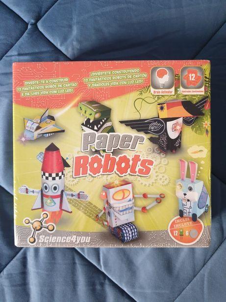 Paper Robots / Robots de Papel da Science 4 you