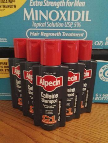Shampoo Alpecin C1 cafeína-250 ml - complementar Minoxidil