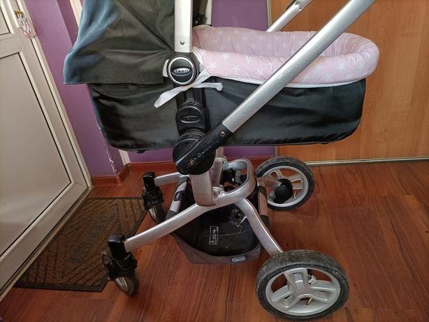 Wózek 3 w 1 firmy GRACO z adapterem