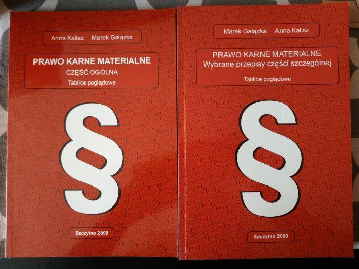 Prawo kare materialne Tablice poglądowe Zestaw A. Kalisz M. Gałązka Szczytno - image 1
