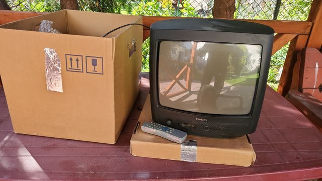 Sprzedam Telewizor Philips 14 '' na kempingi, na działkę