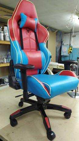 Кресло геймерское игровое компьютерное Barsky Spiderman