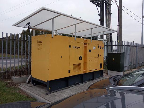 AGREGAT prądotwórczy 120 kW wersja zabudowana zewnętrzna automatyka