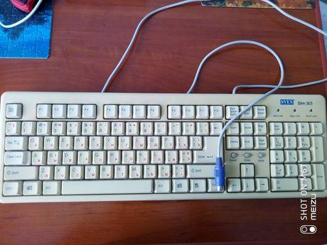 Клавіатура Sven Slim 303 для ПК, клавіатура для комп'ютера