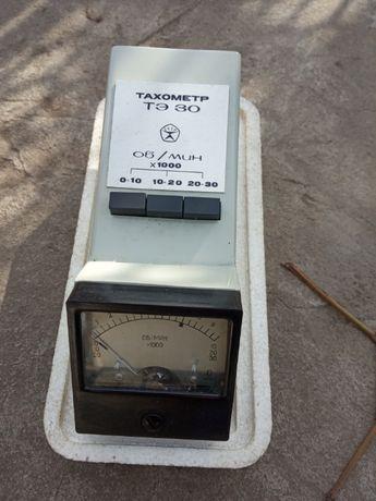 Тахометр ТЭ-30 механический и элэктронный