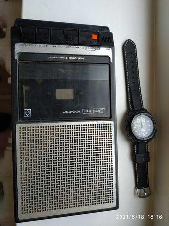 магнитофон Национал Панасоник 80 г. National Panasonic привез с Афгана