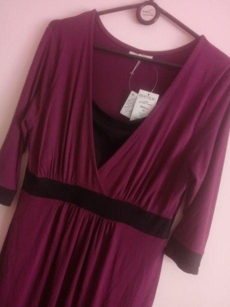 Sukienka midi ciążowa,Avenue,rozm.S/M(38).Nowa z metka.Okazja.