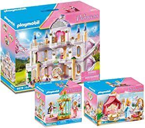 Playmobil супер сет огромный Королевский замок. 9879, 9889, 6890