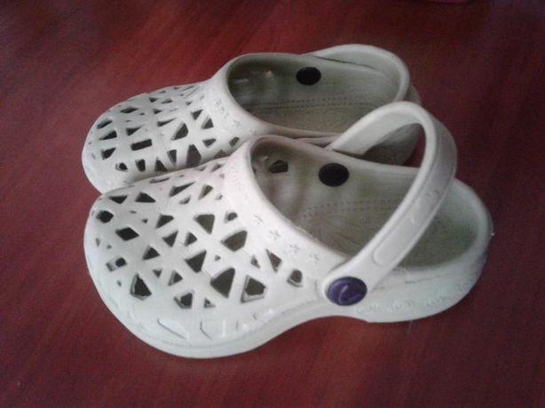 Летние шлепки-сандалии crocs 27р 17,5см