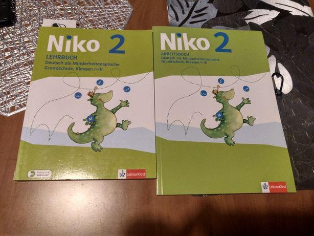Podręcznik i ćwiczenia do języka niemieckiego Niko 2