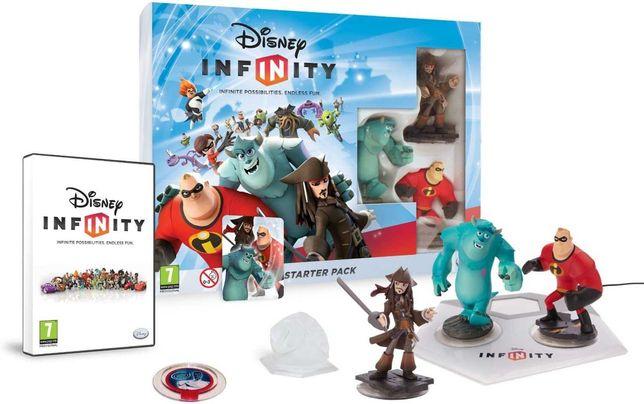 Wii - Jogo Disney Infinity + Personagens EXTRA - NOVO