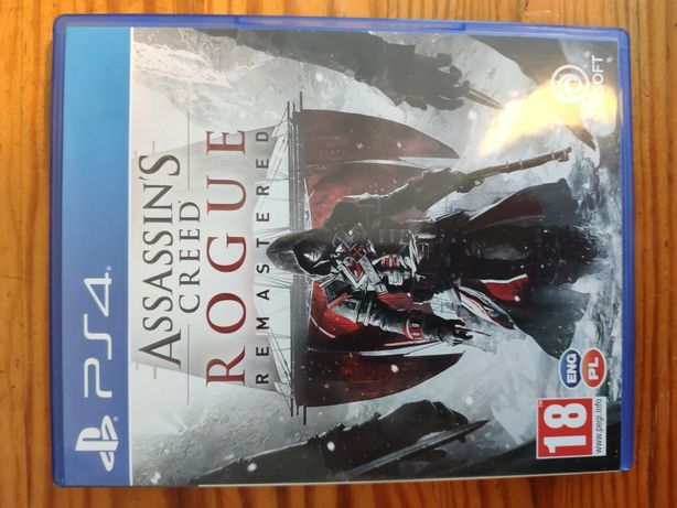 ps4 Assassin's Creed Rogue Remastered PL płyta ps4 playStation 4 ps 4