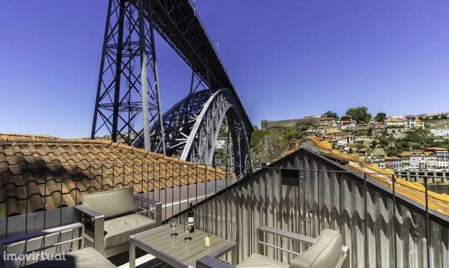 Duplex com vista Rio Douro e Ponte Luis