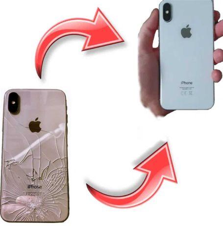 WYMIANA szybki przód tył iPhone 11 SE Xs Xs Max Xr X 8 plus 8 WROCŁAW
