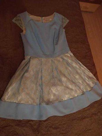 Sukienka błękitna M/L