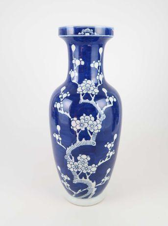 Jarra Porcelana China Azul e Branco Gengibre