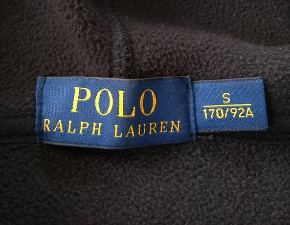 RALPH LAUREN кофта худи черная slim оригинал S идеальная