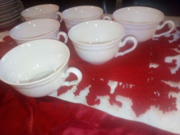 Hertel Jacob Rehau 6 filizanek porcelanowych