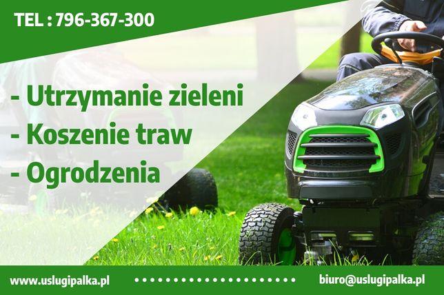 Koszenie traw, pielęgnacja zieleni, rekultywacja, renowacja działek