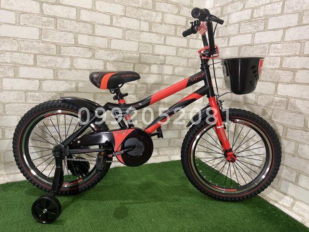 Детский стальной велосипед Hammer S-500 14, 16, 18 дюймов