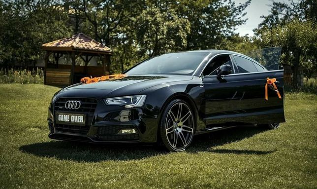 Twoje Auto do Ślubu AUDI A5 Sline 3.0tdi Quattro full opcja !!