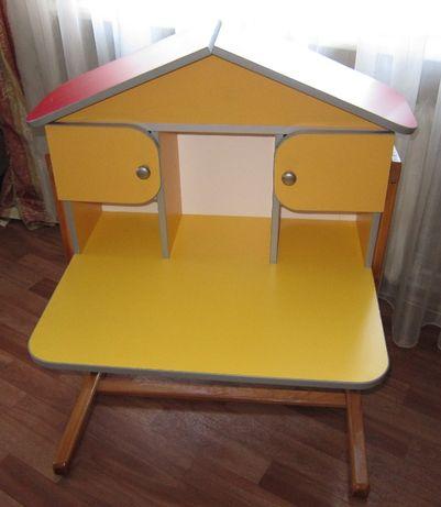 столик - домик - парта детский