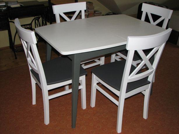 stół rozkładany styl skandynawski/patyczak