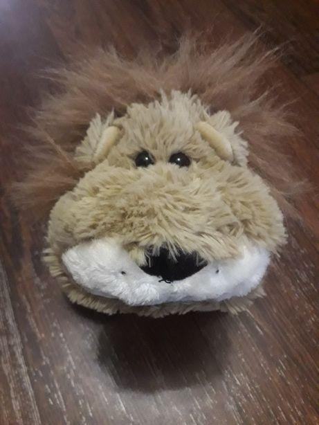Мягкая игрушка лев от фирмы rich толстый мягкий и пушистый
