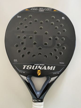 Raquete padel Siux Tsunami ALL BLACK