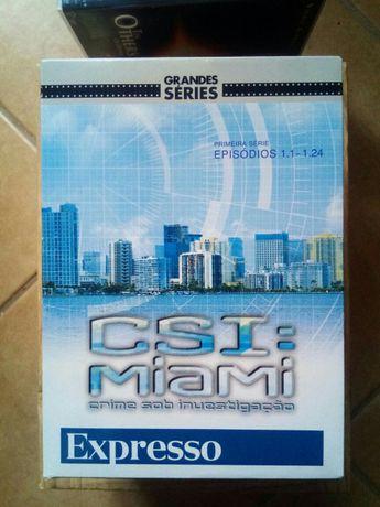 Colecção DVD CSI: Miami Filmes Séries
