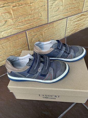 Buty Lasocki rozmiar 31 dla chłopca na podwórko skóra