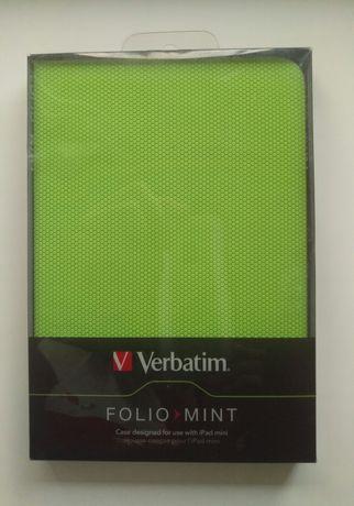 Verbatim Фирменный чехол-подставка для iPad mini. Folio Mint