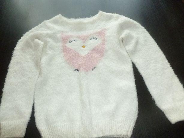 Sprzedam cieplutki sweterek z sową