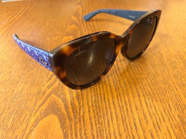Okulary przeciwsłoneczne NOWE Damskie Christian DIOR Blue