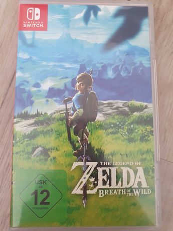 Zelda breath of the wild Nintendo Switch Gra