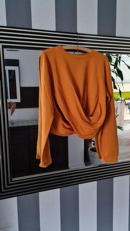 Bluzka Zara rozmiar L, miodowy kolor