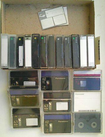 MiniDV кассеты б\у