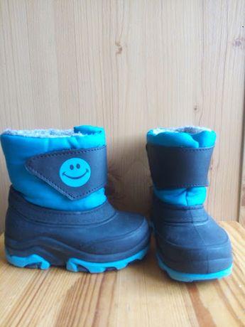 Черевики чоботи 20 р. гумові теплі (сапожки ботинки резиновые)