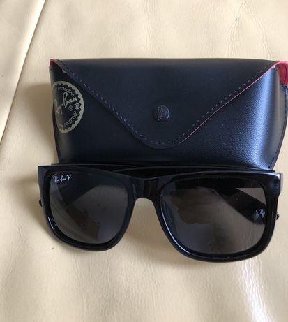 Nowe okulary RayBan Justin Polarization plus akcesoria