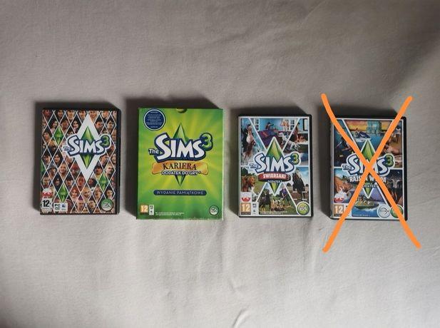 Zestaw gra the Sims 3 + dodatki