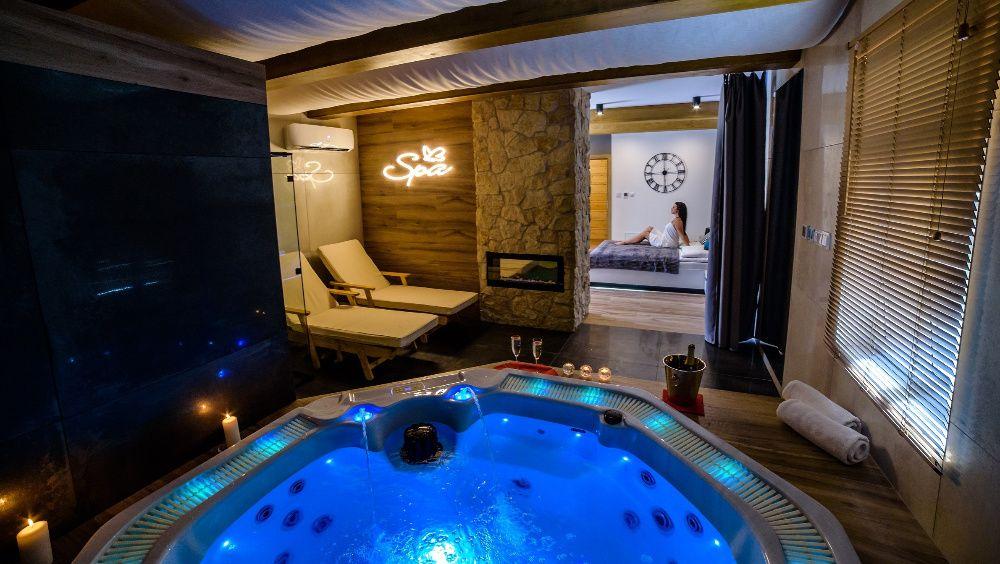 Apartament Górski Spa z jacuzzi i sauną, domek, taras, bon turystyczny