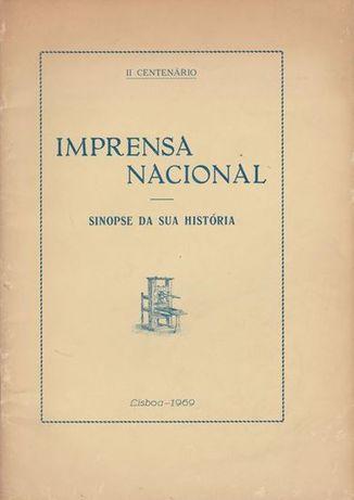 Imprensa Nacional de Lisboa : sinopse da sua história : II centenário