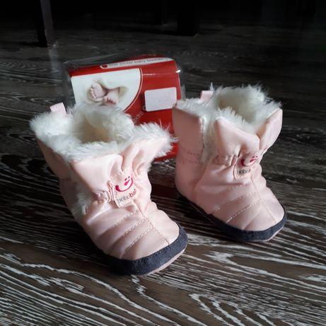 Buty zimowe dla dzieci niechodzących
