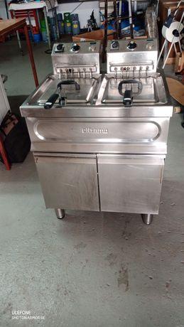 Fritadeira elétrica dupla