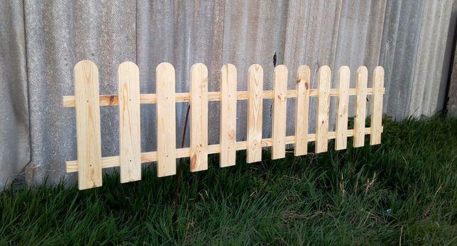 Забор, штакетник деревянный!!! Готовые секции по низкой цене. Доставка
