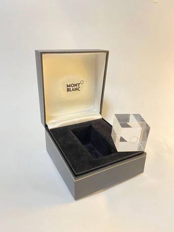 Коробка от часов Mont blanc кубик
