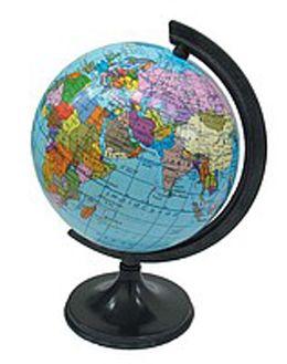 Маленький глобус диаметром 11см