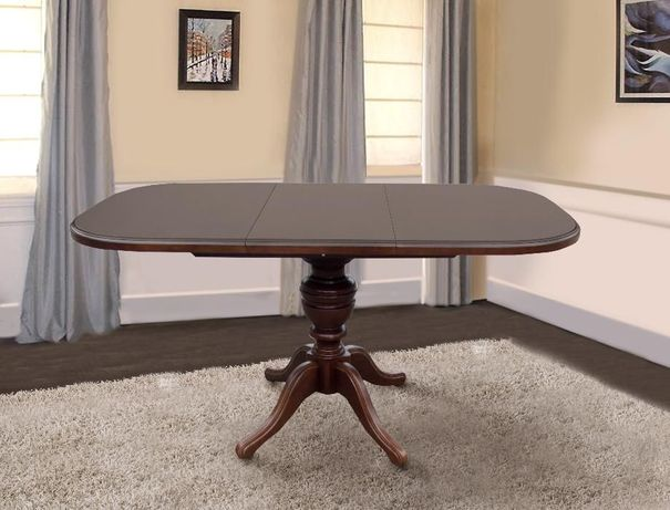 Стол Эмиль (Триумф) овальный раскладной стол обеденный, стіл обідній