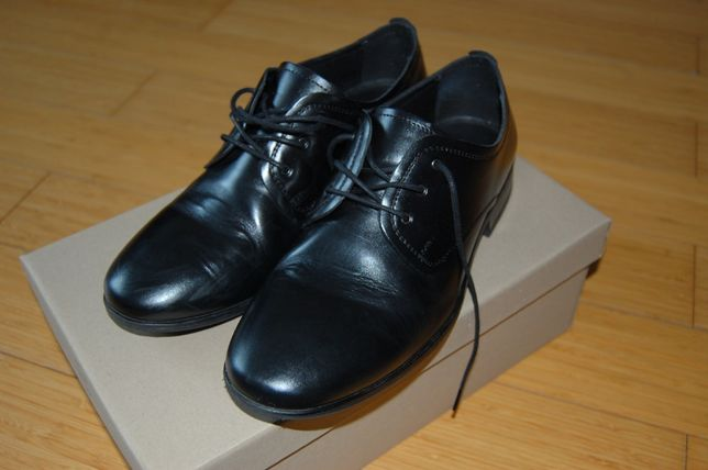 Buty skórzane, rozmiar 38