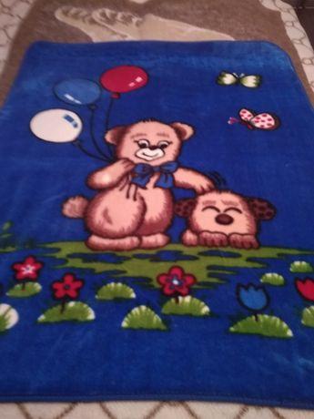 Плед одеяло пледик детский